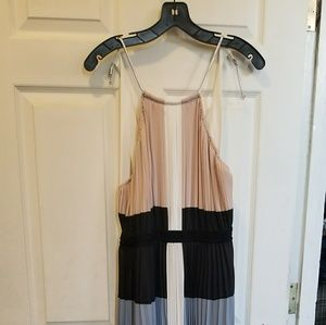 BCBG Maxi Backless Dress